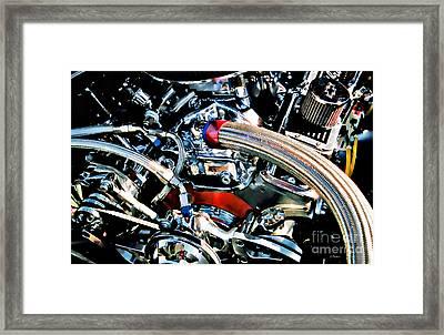 Metal Matter Framed Print by Linda  Parker