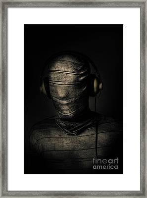 Metal Monster Mummy Framed Print by Jorgo Photography - Wall Art Gallery