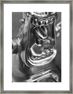 Metal Mouth Framed Print