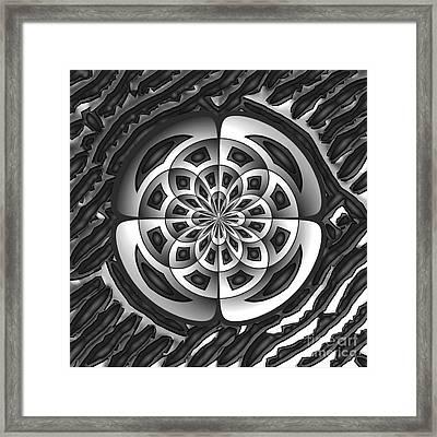 Metal Object Framed Print