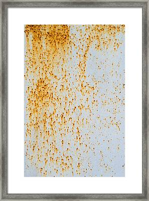Framed Print featuring the photograph Metal Rust by John Williams