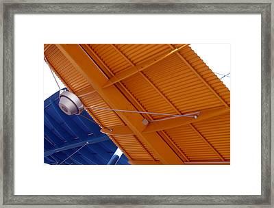 Metal Sails Framed Print by Jez C Self