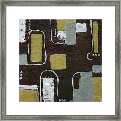 Metalic  Framed Print by Robin Lee