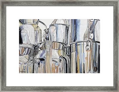 Metalica Framed Print by Patrick DuMouchel