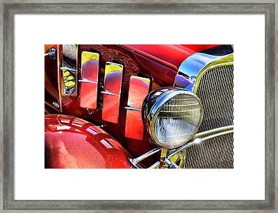 Metallic 1932 Framed Print
