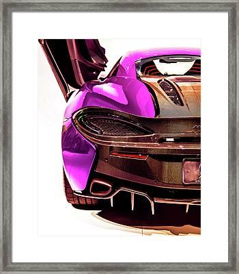 Framed Print featuring the photograph Metallic Heartbeat by Karen Wiles