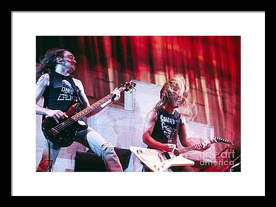 Cliff Burton Photographs Framed Prints