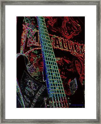 Metallica Framed Print