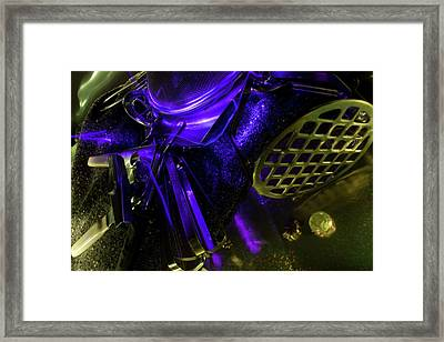 Metallurgy Framed Print by Barbara  White