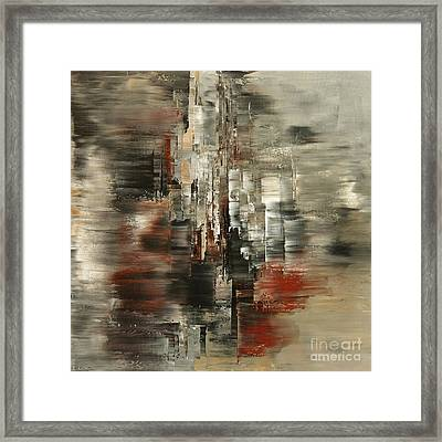 Metals And Magnetism Framed Print by Tatiana Iliina