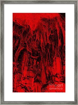Metamorphism - Bizarre Shapes Framed Print