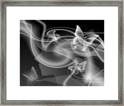 Metamorphosis Framed Print by Alice Chen