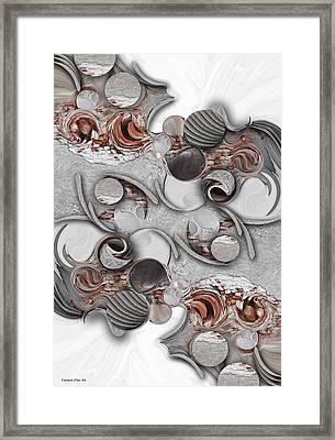 Metamorphosis And Approach Framed Print
