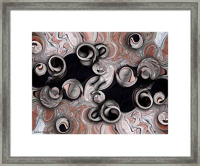 Metamorphosis And Echo Framed Print