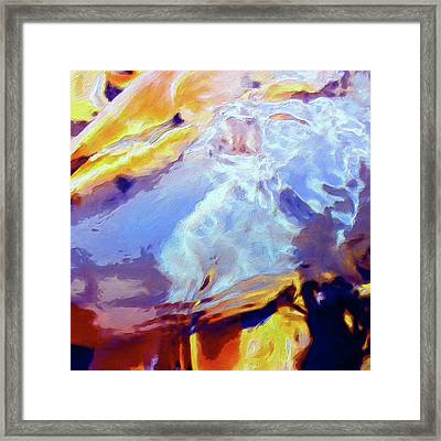 Framed Print featuring the painting Metamorphosis by Dominic Piperata