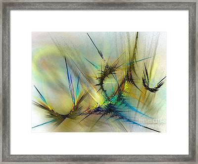 Metamorphosis Framed Print by Karin Kuhlmann