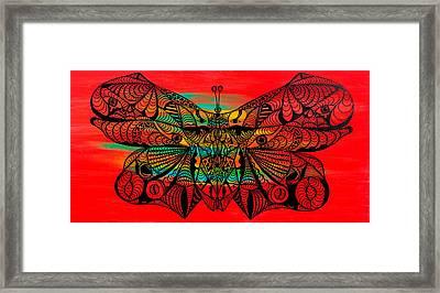Metamorphosis Of Life Framed Print by Kenal Louis
