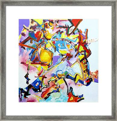 Metamorphosis On A Swing  Framed Print