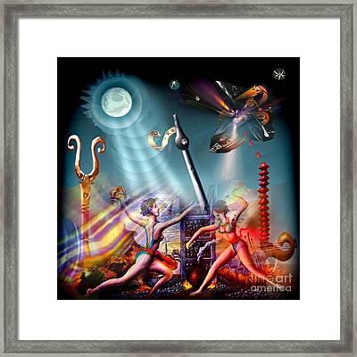 Metaphysical 3 Framed Print by Tighe O'DonoghueRoss