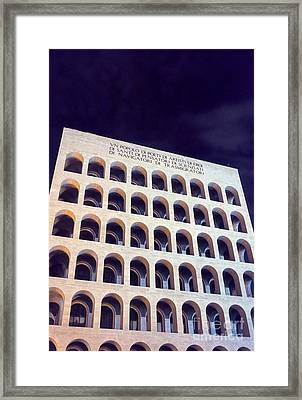 Metaphysical Arches I Framed Print