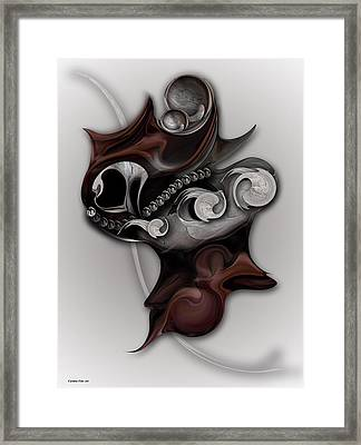 Metaphysical Feeling Framed Print