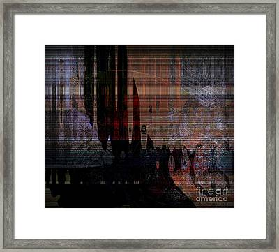 Metaphysical Formations Framed Print by Fania Simon