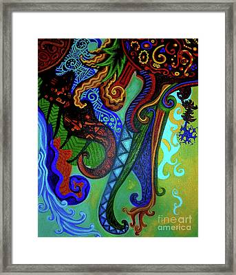 Metaphysical Habituation Framed Print by Genevieve Esson