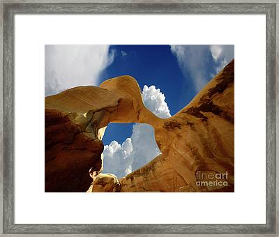 Metate Arch Arizona Framed Print by Bob Christopher