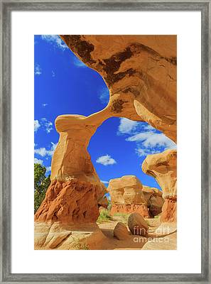 Metate Arch Framed Print by Henk Meijer Photography