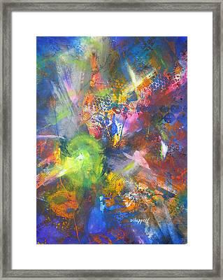 Metatronic Energies Framed Print