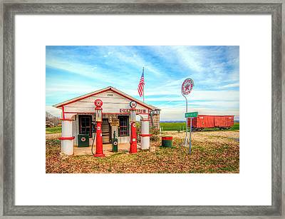 Metcalfe Station Framed Print by Marion Johnson