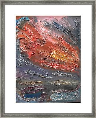 Meteor Framed Print by Rivka Waas