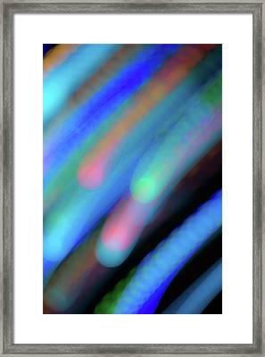 Meteor Storm Framed Print