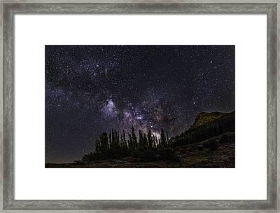Meteorite  Framed Print by Guido Montanes Castillo