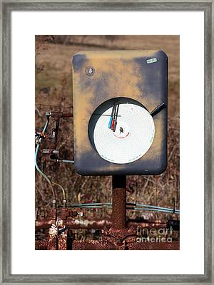 Meter Framed Print by Amanda Barcon