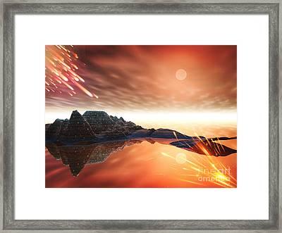 Meteroite Framed Print