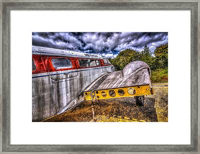 Methow Airlines Framed Print by Spencer McDonald