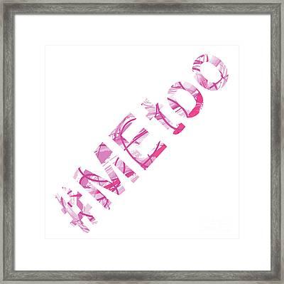 #metoo Me Too Movement Original Prints Fine Art Framed Print