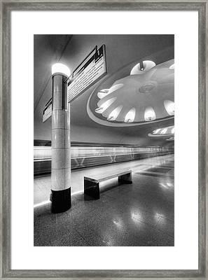 Metro #1591 Framed Print