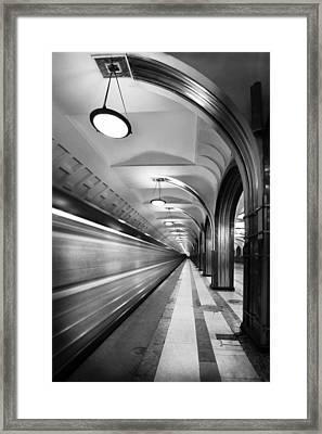 Metro #5147 Framed Print