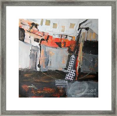 Metro Abstract Framed Print by Ron Stephens
