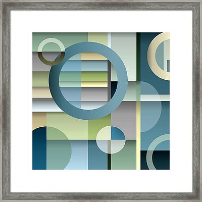 Metro Framed Print by Tara Hutton