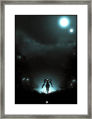 Metroid Prime Framed Print by Colin Morella