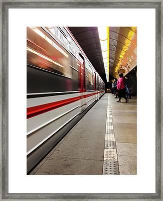 Metroland Framed Print