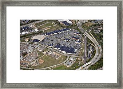 Metroplex Shopping Center Chemical Road Plymouth Meeting Pennsylvania Framed Print by Duncan Pearson