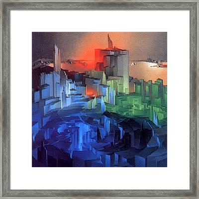 Metropolis 1975 Framed Print