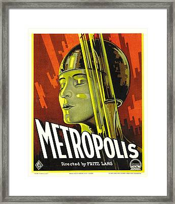 Metropolis, Brigitte Helm, 1927 Framed Print by Everett