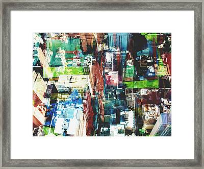 Metropolis Framed Print by David Studwell