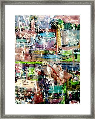 Metropolis II Framed Print by David Studwell