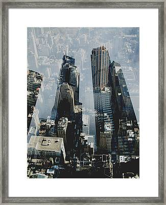 Metropolis IIi  Framed Print by David Studwell